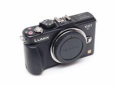 Panasonic Lumix DMC-GX1 Mirrorless Micro 4/3 Digital Camera Body, Black 16 MP