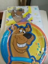 vintage scooby doo napkins and paper plates Hallmark NIP free ship