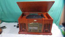 Leetac Model TAP-830 Nostaligia Music Center Turntable, CD Player, AM/FM Radio +