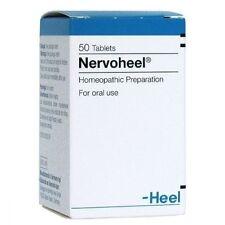 Nervoheel N Homeopathy Anxiety Disorder, Stress relief,Insomnia 50 tab Heel USA