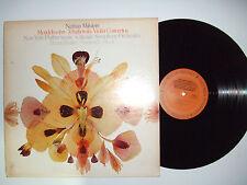 Bruno Walter– Mendelssohn / Tchaikowsky - Violins -Disco Vinile 33 Giri LP MONO