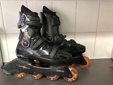 Ultra Wheels Bio Fit Rollerblades Women's Inline Skate Size 5-8 Black Great Cond
