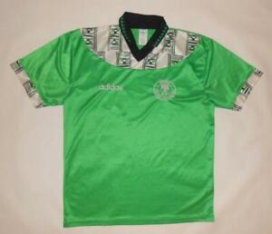 HOME SHIRT ADIDAS NIGERIA 1994-95 (L) Jersey Trikot Maillot Maglia Camiseta