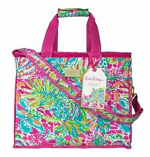 LILLY PULITZER Insulated Party Cooler  SPOT YA  EVA-, Phtha- Travel Tote Bag NW