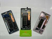 OEM Samsung Galaxy Note 9 N960 N960U LCD Touch Screen Digitizer With Light Burnt