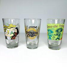 Pappasito'S Cantina Pint Beer & Margarita Glasses Legendary Tex Mex Food Euc