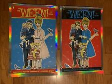 Ween Troutdale, Oregon By Zoltron.  Foil Variant Set. edition of 26