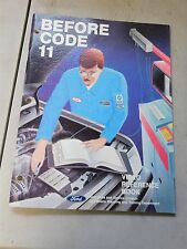 Nos 1980's Ford Before Code 11 Engine Computer Systems Training Shop Manual
