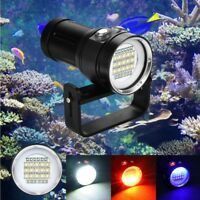 27 LED Diving Flashlight Photography Light Underwater IPX8 Waterproof Torch Lamp