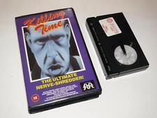 Betamax Video ~ Killing Time ~ Alan Vint / Cheryl Waters ~ Movie Makers