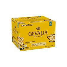 Gevalia Kaffe Signature Blend, Single Serve - 100 K-Cups- FREE SHIPPING