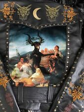 Toxic Vision Leather jacket