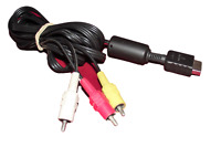 Genuine Sony Playstation Console AV Cable Cord PS2 Composite Lead