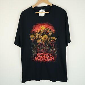 Bring Me The Horizon Band T-shirt Vintage Retro British Rock SZ XL (G352)