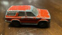 OLD VINTAGE MAJORETTE TOYOTA RUNNER RED AS PICS DO UP PROJECT