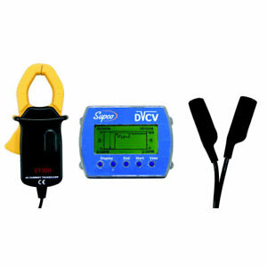 Supco Data View DVCV Current & Voltage Data Logger w/ Software & USB Cable