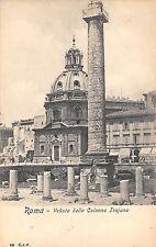Br34097 Roma Veduta della Collona Trajana Italy