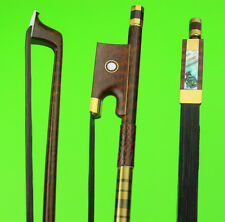 Professional performance 4/4 snakewood violin bow.black bow hair