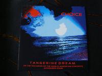 Slip Single: Tangerine Dream : Choice  Nov 2008 Edition