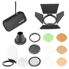 AK-R1 Kit de accesorios de flash de cabeza redonda para V1-S AD200 Flash Light