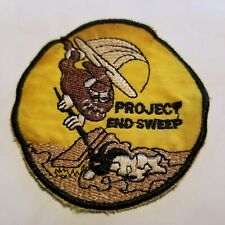 """US MARINE HMH-463 HEAVY HELICOPTER SQ """"PROJECT END SWEEP"""" VIETNAM WAR PATCH (80"""