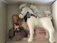 Madame Alexander Unicorn Fairy Doll RARE new in original box with tags and net