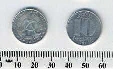 German-democratic Republic 1979 A - 10 Pfennig Aluminum Coin - Berlin mint