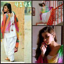 Ethnic Patiyala Salwar Kameez  Designer Bollywood  Suit Indian Pakistani Dress