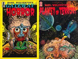 Basil Wolverton's Gateway to Horror & Planet of Terror! Dark Horse Comics