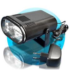 LED Stroboskop Eurolite Disco Strobe 10xLEDs RGB LICHTORGEL BLITZ rot gelb blau