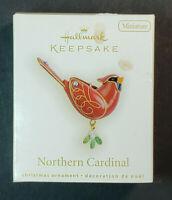 Hallmark Keepsake Northern Cardinal 2009 Miniature Christmas Ornament