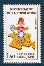 TIMBRE 2202 NEUF XX LUXE - RECENSEMENT DE LA POPULATION DE 1982