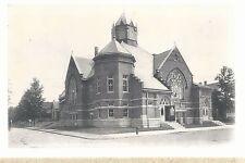 First M E Church Alexandria In Unused Methodist Episcopal Postcard 6103