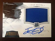 2012 JEAN SEGURA NATIONAL TREASURE JERSEY RC Auto 21/25 Rookie