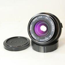 Vivitar 28mm f/2.8 Olympus OM Mount Wide Angle MC OM Prime Lens 28mm 2.8 (C1293)