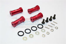 TRAXXAS Mini E-Revo-ALLOY HEX ADAPTOR(+25MM)- 4PCS SET-RED