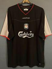 Vintage Old Reebok Mens Liverpool 2002/2003 Football Soccer Shirt Jersey Size Xl