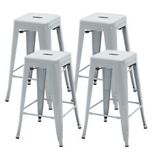 Silver Bar Stools For Sale Ebay