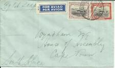 Mozambique Company FIRST FLIGHT Mu#8 BEIRA 7/JUL/1937 to Capetown