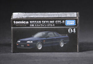 Takara Tomy Tomica 04 Premium Nissan Skyline GTS-R Mini Diecast Car
