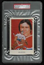 PSA 10 KEN DRYDEN 1983 HOCKEY HALL OF FAME POSTCARD #N4