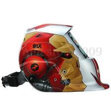 Pro Solar Auto Darkening Welding Helmet Tig Mask Grinding Welder Mask Robot New