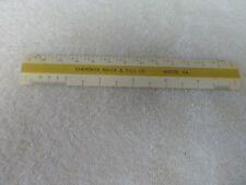 Vintage Cherokee Brick & Tile CO Advertising Ruler with Case