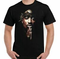 2Pac T-Shirt Shakur 2 Pac Mens Unisex Top Rap Hip Hop Biggie Smalls BIG
