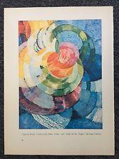 "Francois Kupka ""Circles"" & Francis Picabia ""Udine"" Reprint"
