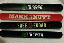 4 Achievement Hunters exclusive wrist Band  Rooster Teeth Mark Nutt