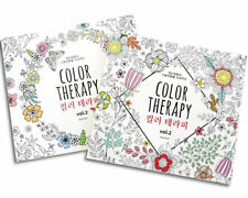 ColorTherapy Anti Stress Coloring Painting Books for Adult Relaxation 104 page