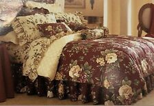 Waverly Garden Room Floral Manor Comforter Set Full/ Double