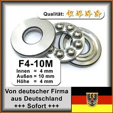 Kugellager 4*10*4mm Da=10mm Di=4mm Höhe=4mm F4-10M Axiallager