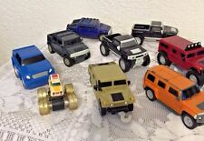 HUMMER toy truck McDonalds GMC complete set 9 VEHICLES